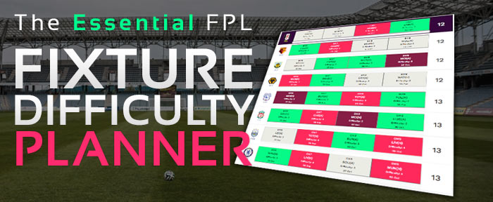 FPL Fixture Difficulty Planner